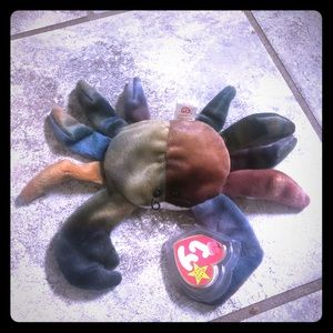 Claude The Crab Ty Beanie Baby